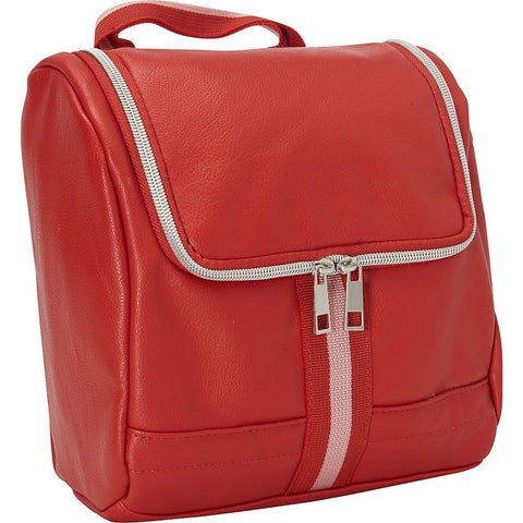 Bellino Women's Cooper Cosmetic Case, Red