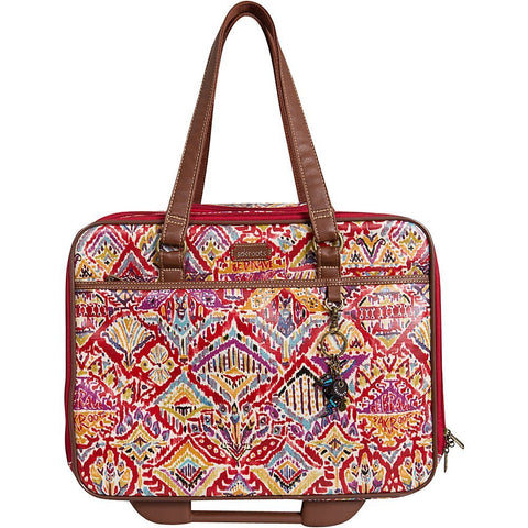 Sakroots Women's Artist Circle Mobile Tote, Sweet Red Brave Beauty