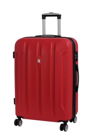 it luggage Proteus 28 Inch Hardside Checked Spinner Luggage (Racing Red)