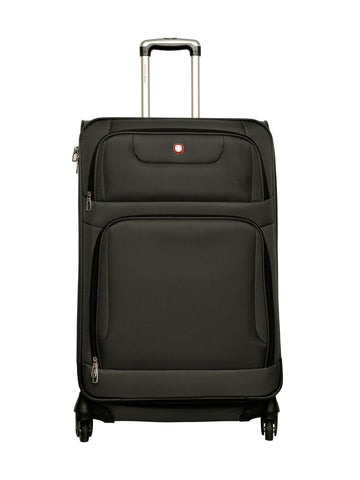"SWISSGEAR 7297 20"" EXPANDABLE CARRY ON SPINNER LUGGAGE"