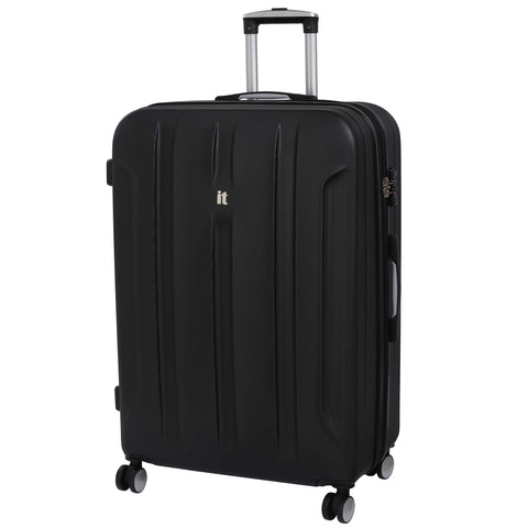 it luggage Proteus 31.7 Inch Hardside Checked Spinner Luggage (Black)