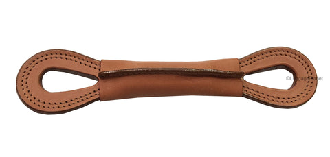 Hartmann Luggage Belting Tan Leather Replacement Figure 8 Handle OEM 8.5 inches