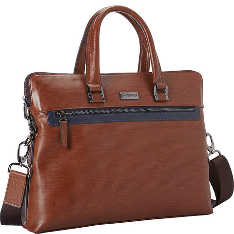 Numinous London SMART Leather City Bag 3501 (Brown)