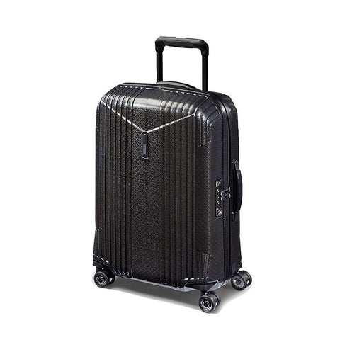 Hartmann 7R Small Spinner, Carry On Aluminum Luggage in Black
