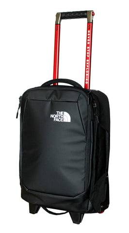 The North Face Accona 19 Carry-Ons Luggage Travel Rolling Bag RTO (Tnf Black)