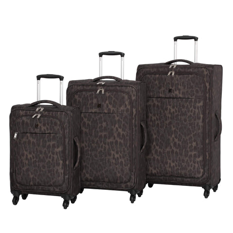 it luggage Suitcase, Leopard Print