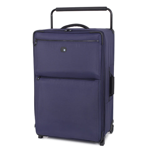 it luggage World's Lightest Los Angeles 32.4 inch Upright, Two Tone Navy EU