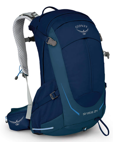 Osprey Packs Stratos 24 Hiking Backpack, Eclipse Blue, o/s, One Size