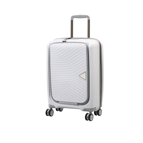 "it luggage 22"" Acclaimed Harside Polypropylene TSA Lock Carry-On, White"