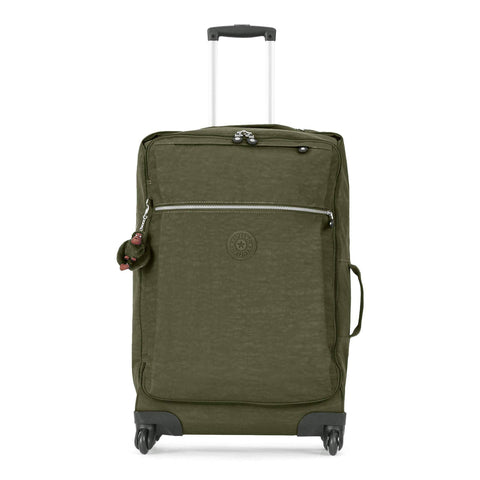 Kipling Unisex-Adult's Darcey Medium Wheeled Luggage, Jaded Green