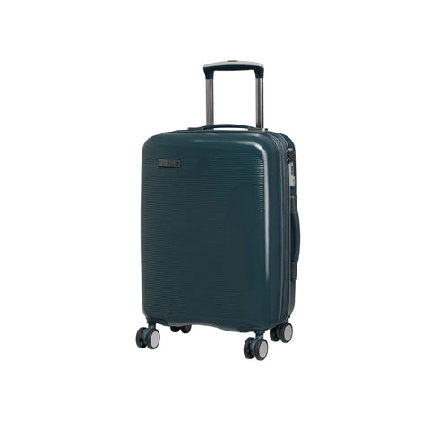 "IT Luggage 20.9"" Signature 8-Wheel Hardside Expandable Carry-on, Reflecting Pond - Teal"