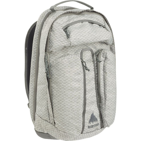 Burton Curbshark Backpack, Grey Heather Diamond Ripstop