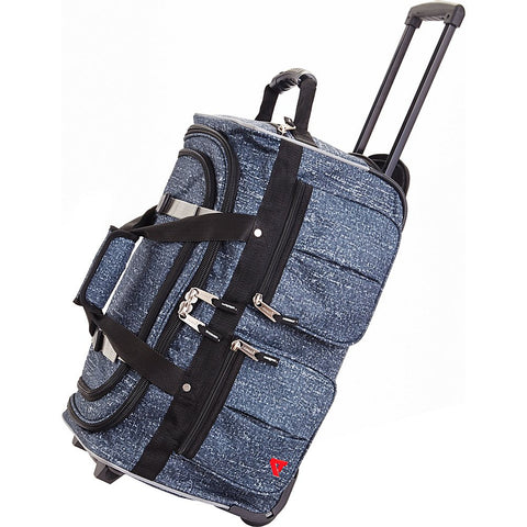 "Athalon 29"" 15 Pocket Duffel Denim Rain Rolling, One Size"
