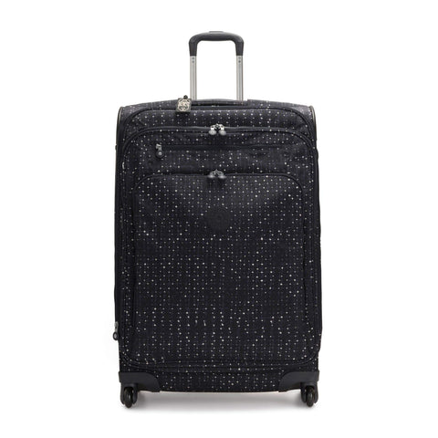 Kipling Unisex-Adult's Youri Spin 78 Wheeled Luggage, Tile Print