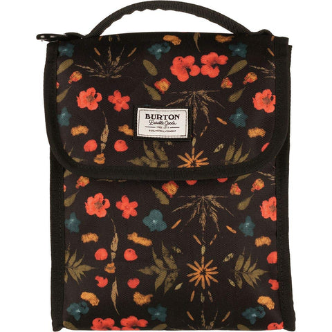 Burton Lunch Sack, Black Fresh Pressed Print