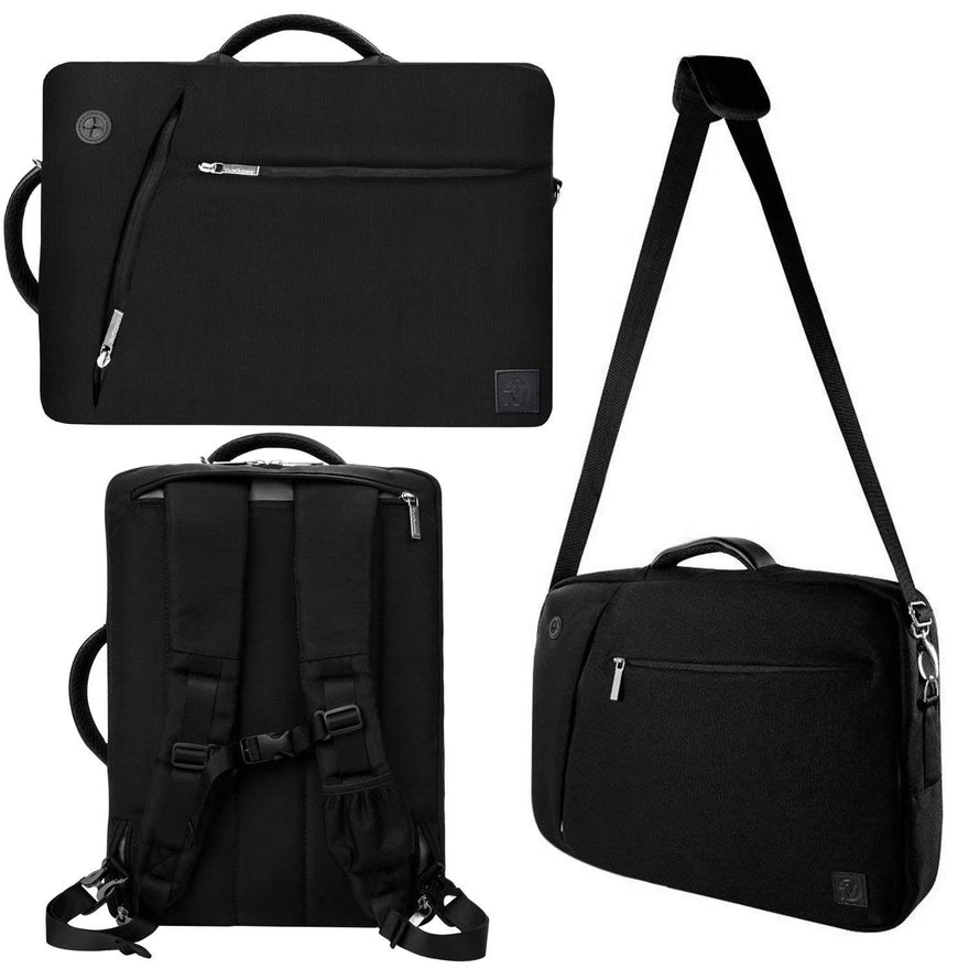 Universal 11.6 12.5 Inch Laptop Tote Shoulder Messenger Bag Backpack Briefcase