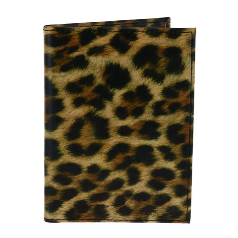 Heys America Leopard Passport Holder, Leopard