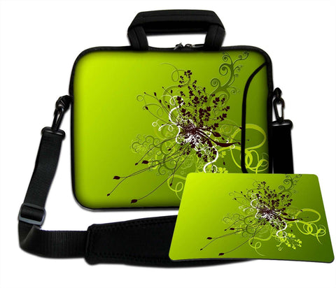 "LUXBURG 14"" Inches Luxury Design Laptop Notebook Sleeve Soft Case Bag with Handle and Shoulder Strap Plus Free Mouspad! for Apple, Acer, Asus, Chromebook, Dell, HP, Lenovo, Samsung, Sony, Toshiba etc"