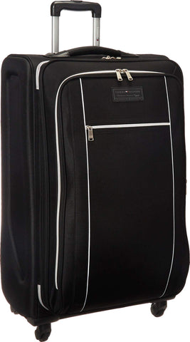 "Tommy Hilfiger Unisex Urban Sport 28"" Upright Suitcase Black One Size"