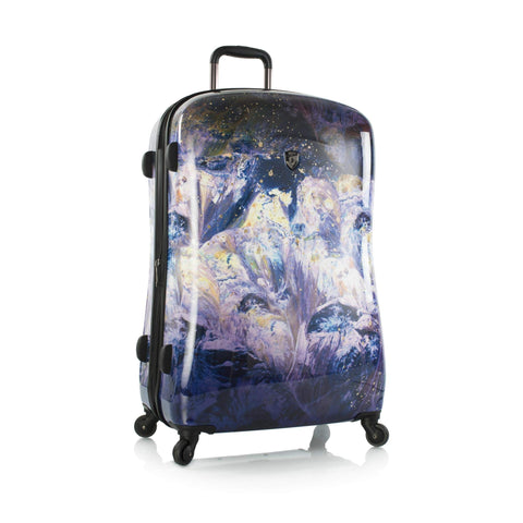Heys Luggage Purple Amethyst 30 Inch Spinner Suitcase
