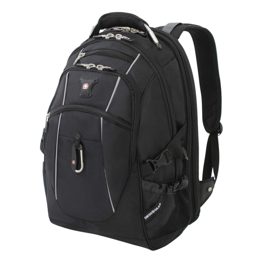 SWISSGEAR 6677 TSA friendly ScanSmart Laptop Backpack Work School and Travel