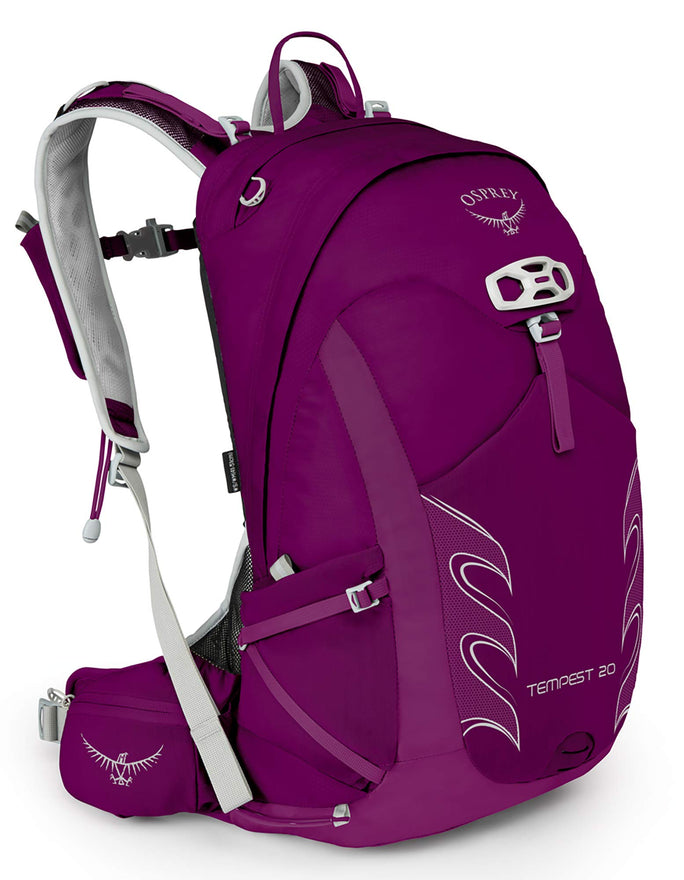 Osprey Packs Tempest 20 Women's Hiking Backpack, Mystic Magenta, Ws/M, Small/Medium