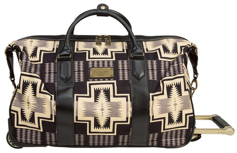"Pendleton Harding 22"" Rolling City Duffel - Black, One Size"