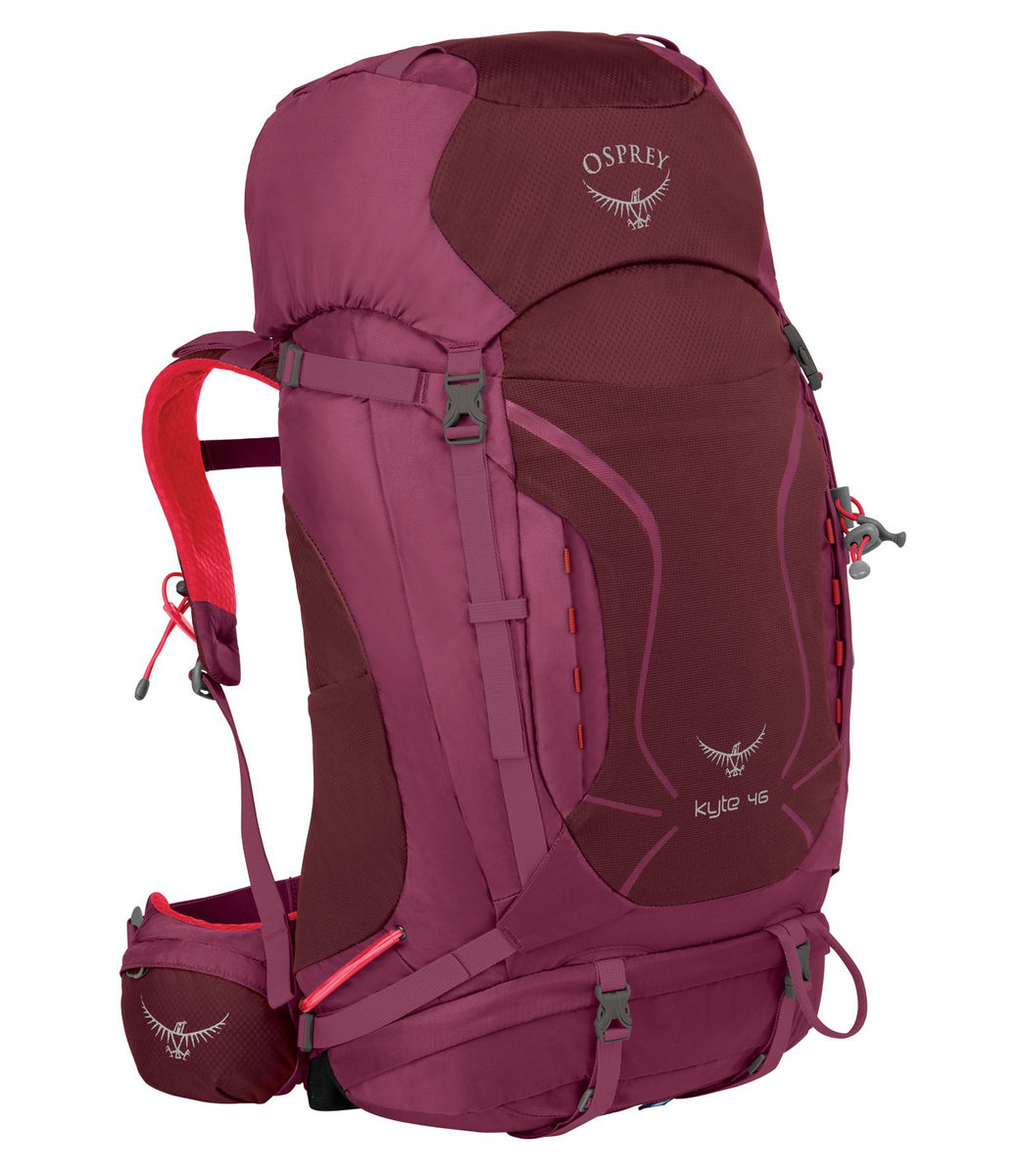 Osprey Packs Women's Kyte 46 Backpack, Purple Calla, Small/Medium