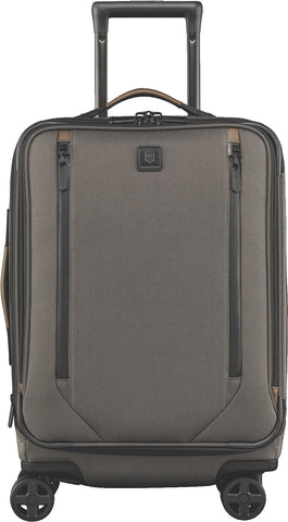 Victorinox Lexicon 2.0 Dual-Caster Global Expandable Spinner Carry-on, Gray