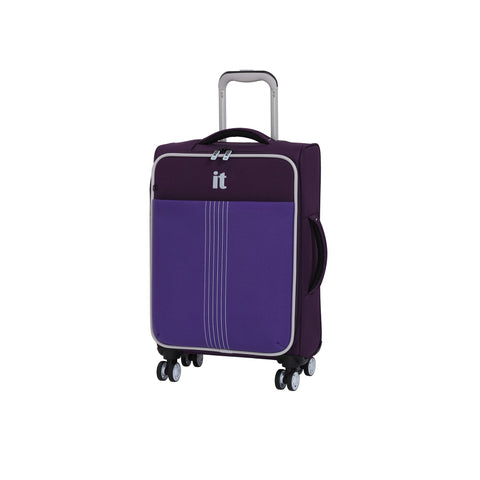 "it luggage Filament 21.5"" Lightweight Expandable Carry-On Spinner (Sky Purple)"