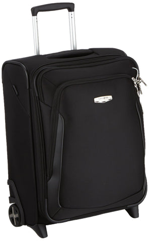 Samsonite Upright 55 Expandable (55 cm-51.5 L), Black