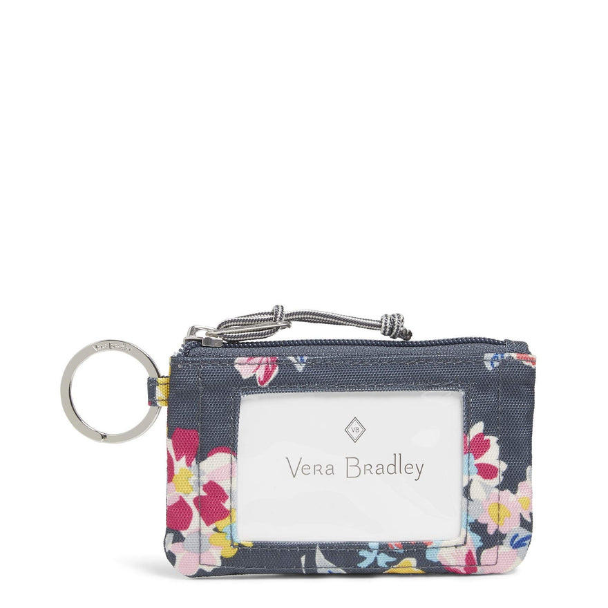 Vera Bradley Lighten Up Zip, Tossed Posies