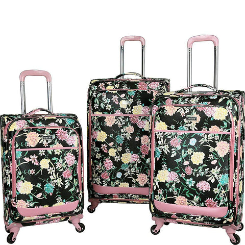 Kensie Luggage Kensie 3-Piece Softside Expandable Spinner Set