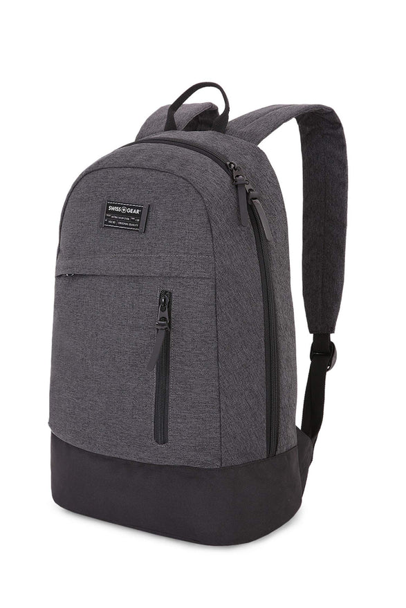 SWISSGEAR 5319 GETAWAY DAYPACK LAPTOP BACKPACK Perfect for School - HEATHER GRAY
