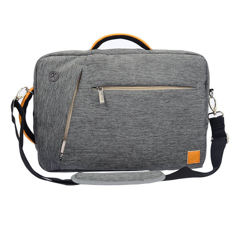 VG Hybrid Bag for MacBook, Surface, ASUS Transformer Elite, Dell Inspiron XPS, Acer Aspire, HP Pavilion Slate, Toshiba Satellite, Lenovo ThinkPad IdeaPad Miix, Samsung Series up to 12.5 inch , Gray