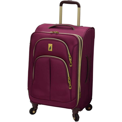 London Fog Coventry 21in Expandable Spinner Carry On