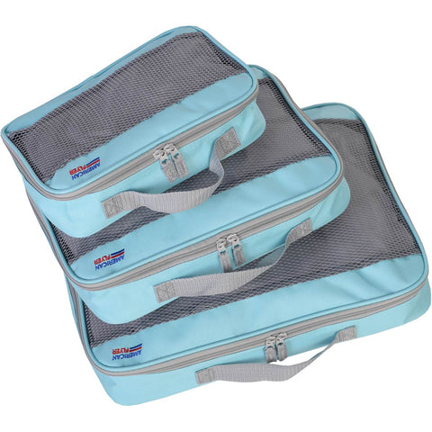 American Flyer 3pc Perfect Packing Cube Set