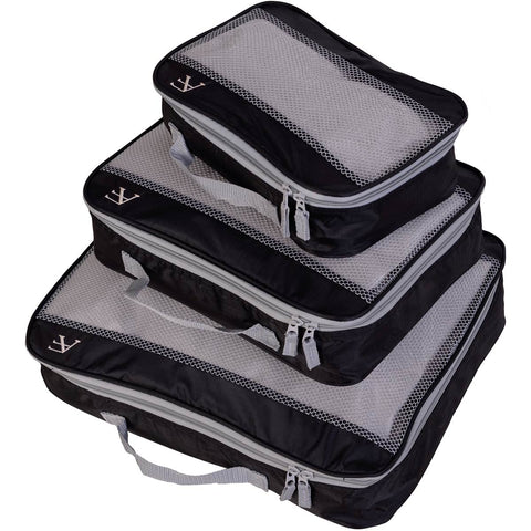 American Flyer Hot 3pc Packing Cube Set