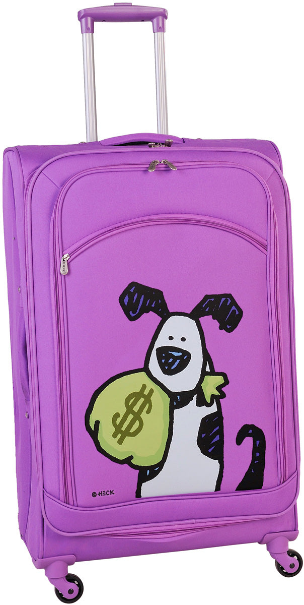 Ed Heck Money Doggie 25in Upright Spinner