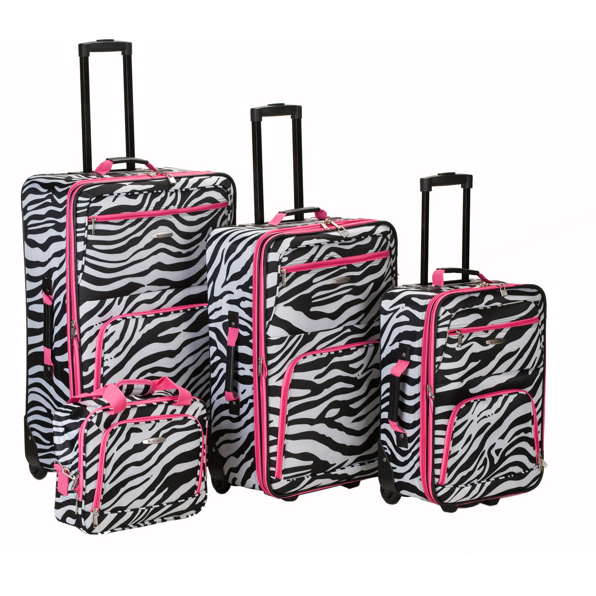 Rockland Luggage 4 Piece Expandable Luggage Set