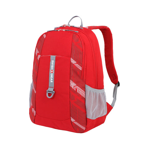 SWISSGEAR Laptop Backpack School College Work and Travel/Red Course Track
