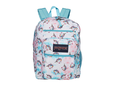 JanSport Big Student Unicorn Clouds One Size