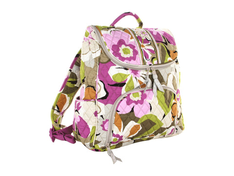 Vera Bradley Double Zip Backpack Portobello Road