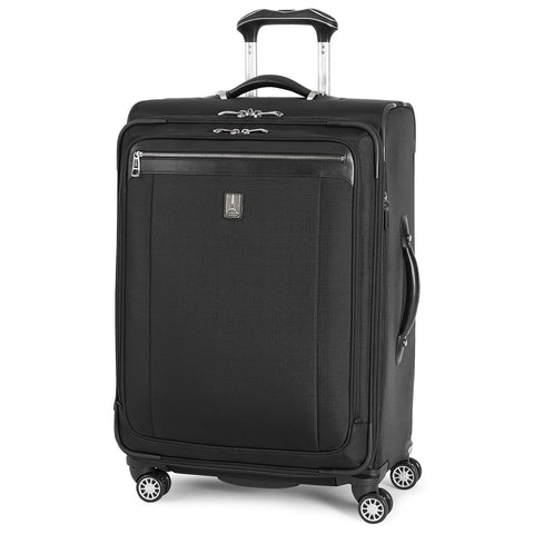 Travelpro Platinum Magna 2 Expandable Spinner Suiter Suitcase, 25-in., Black