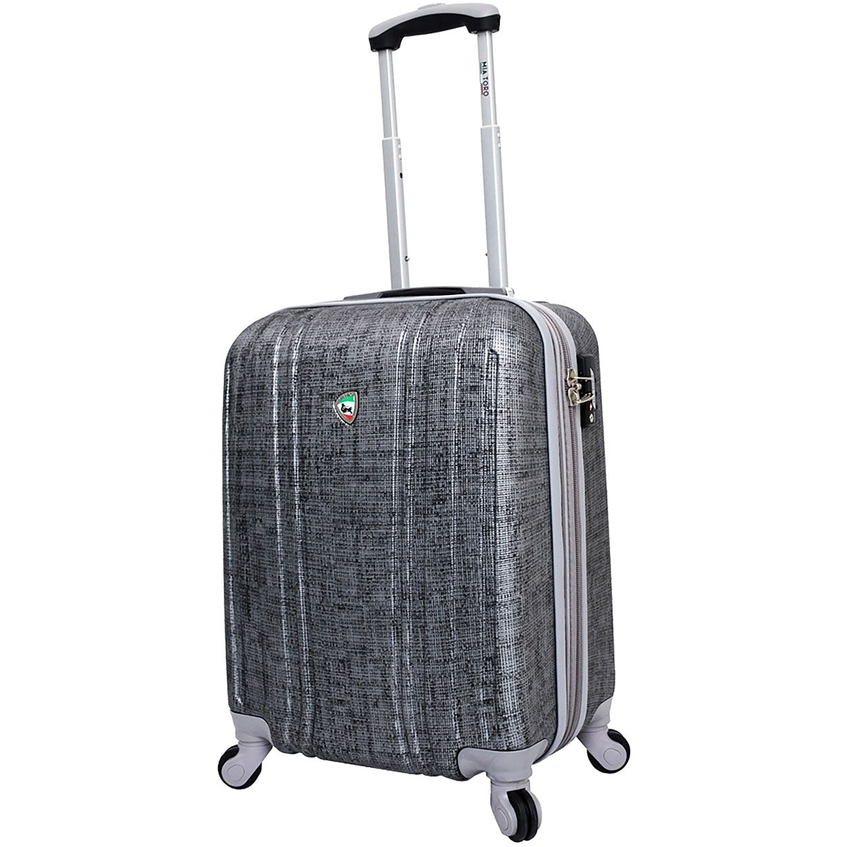 Mia Toro Macchiolina Abrasa Hardside 24in Spinner - Luggage Factory