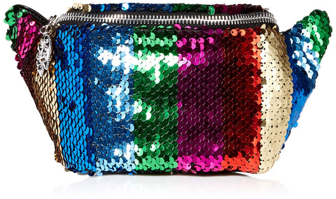 Betsey Johnson Spectrum Spectacular Belt Bag,  Rainbow, One Size