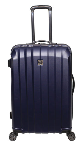 "Revo Stealth Expandable Hardside Spinner, 25"", Navy"