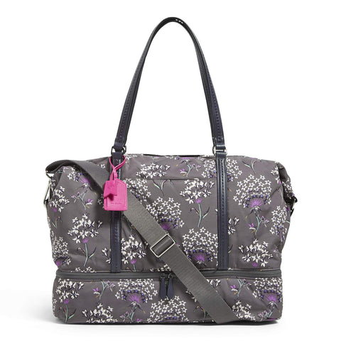 Vera Bradley Women's Midtown Travel Bag, Dandelion Wishes, One Size