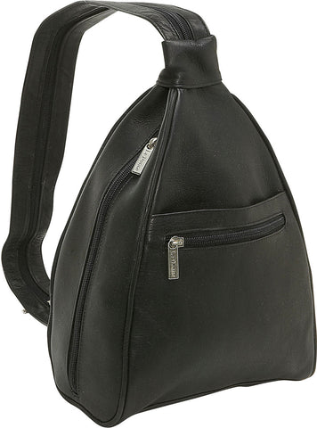 LeDonne Leather Ladies Sling Backpack/Purse