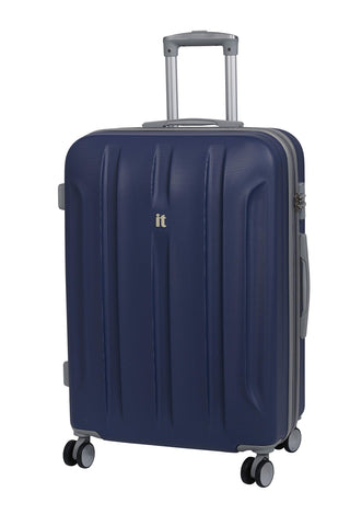 it luggage Proteus 28 Inch Hardside Checked Spinner Luggage (Twilight Blue with